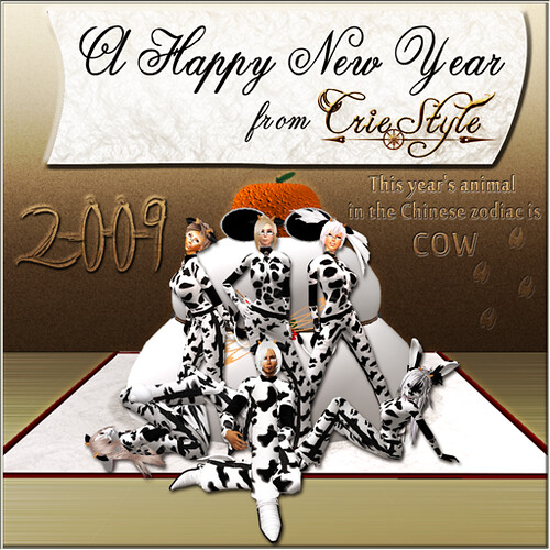 A Happy New Year from Crie Style♪