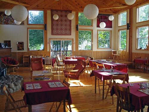 Spacious common room on Cape Breton