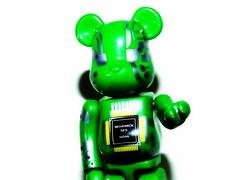 Bearbrick SFS 0046 (I) (mightyquinninwky) Tags: bear green japan silver geotagged toy kubrick picnik bearbrick circuitboard sfs japanesetoy toybear geo:lat=37693261 geo:lon=87905661 specialeffectbear