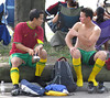 soccerguys (linksysdude) Tags: uncut balls peek oops exposed commando nads freeballing upshorts