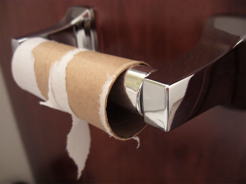 Budget Cuts Means No More TP