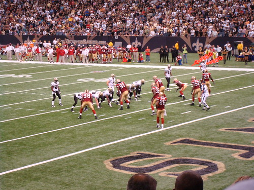 San Francisco 49ers at New Orleans Saints
