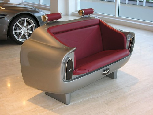 National Speed - Aston Martin Couch