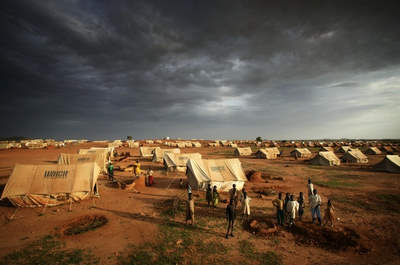Chad refugee camp