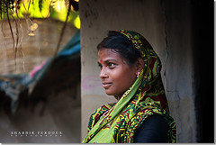 Smile on the Other Side (Shabbir Ferdous) Tags: portrait smile photographer bangladesh bangladeshi canoneos5d ef70200mmf28lisusm tribalwoman hindugirl shabbirferdous wwwshabbirferdouscom shabbirferdouscom