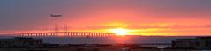 Sunrise over Øresund (fredesorensen) Tags: sunrise denmark sweden danmark øresund oeresund