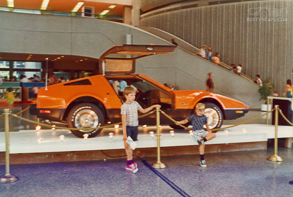 Bricklin at Ontario Science Center, 1975