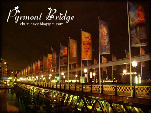 Pyrmont Bridge Darling Harbour