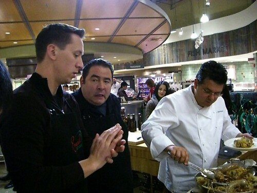 Jason, Chef Emeril, & Chef Sal