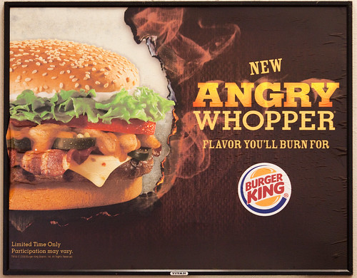 The Angry Whopper, Preferred by Angry Rioters Everywhere