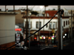 Day Ten (Dustin Diaz) Tags: sanfrancisco city night corner store nikon dof power bokeh dusk framed 85mm saturday line liquor 365 missiondistrict nikkor featured 85mmf14d project365 dustindiazcom d700