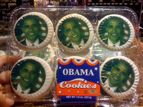 Obama Cookies - Taken With An iPhone