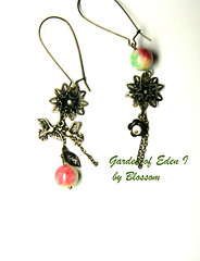 garden of eden-earrings