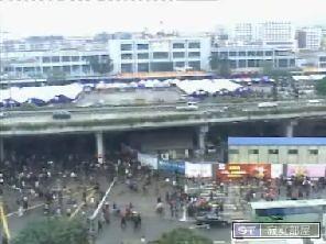 08广州火车站实况