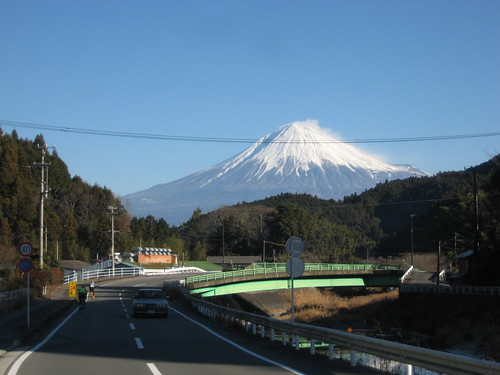PC2 までは常に富士山に見守れながら走る