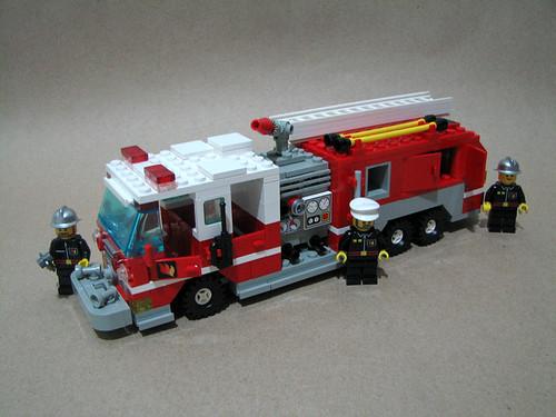 fire engine lego instructions