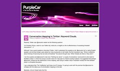 Keyword Clouds. | PurpleCar_1232665606459