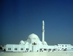 Masjid Jumu'ah (Chennette) Tags: white minaret prayer olympus mosque dome friday saudiarabia masjid hajj madinah juma congregrational jumuah ziyaarah