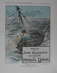 A la dérive by Jean Richepin