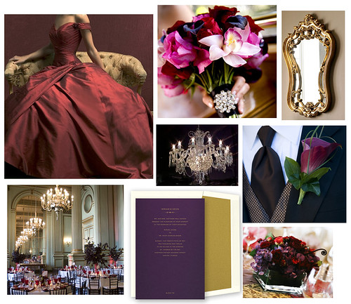 For a Royal Affair, Jewel Tones Reign