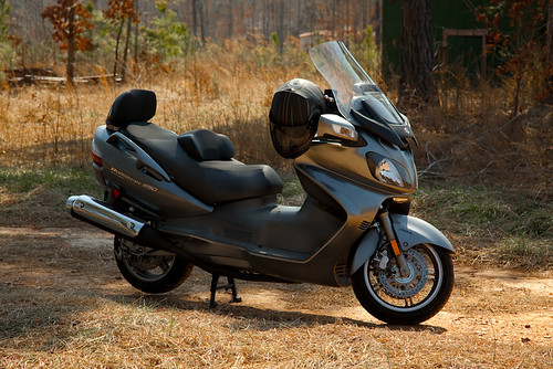 2009 Suzuki Burgman 650 Executive Picture