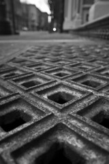 IMG_6190 (sweber4507) Tags: world street old urban canon grate town aperture iron downtown chinatown pattern dof bokeh district perspective gritty we explore sidewalk cast cover lowangle wearetheworld ankeny xti tamron1850 excapture betterthangood qualitypixels