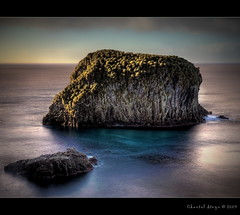 Admiral's head (Chantal Steyn) Tags: ocean blue sea reflection water rock landscape island coast nikon view head nikkor hdr turqoise admirals d300 9exp 1685mm goughisland