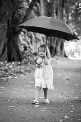 Lyla Adair (A & K Photography) Tags: family portrait blackandwhite girl kids umbrella children toddler child outdoor adelaide 2yearsold lylaadair