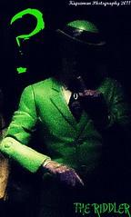 The Riddler (THE AMAZING KIKEMAN) Tags: comics paul penguin dc al gallery jean mr action bruce wayne scarecrow moth ivy harley killer valley freeze figure batman quinn croc poison hush bane ras riddler mattel diorama villains gul finest photgraphy azrael enemies clayface the rogues gothams manbat