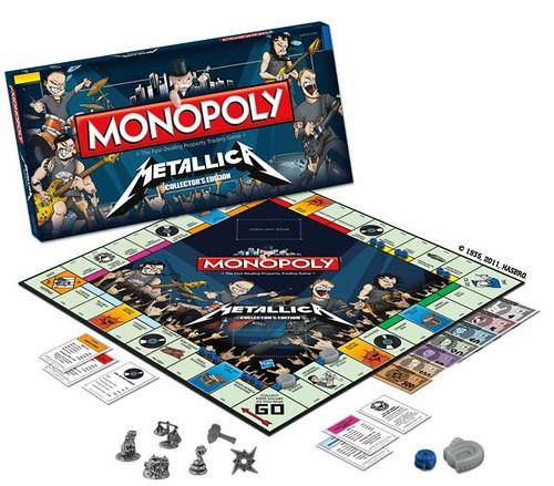 Monopoly Metallica Collectors Edition, DUMB, drollgirl
