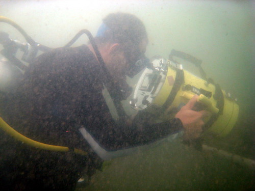 diver filming for Once Upon a Tree - Tides and Coastlines (1)