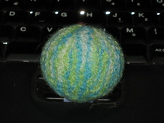 Felted ball