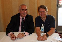 Dave with Ben Stein