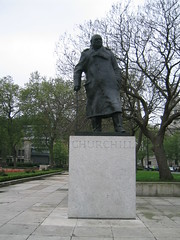 Winston Churchill Statue (Ryan Hadley) Tags: uk england sculpture london art statue square europe unitedkingdom worldheritagesite parliamentsquare winstonchurchill britishhousesofparliament