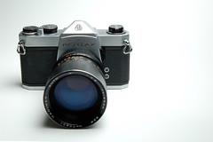 my pentax 1000sp (digi_baz) Tags: camera film digital d50 studio lens nikon shot pentax flash gear tele spotmatic setup product tamron f28 135mm sb28 pocketwizard 1750f28