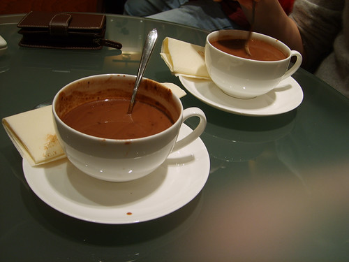 Hot Chocolate at La Maison du Chocolat by Hippy of Doom.