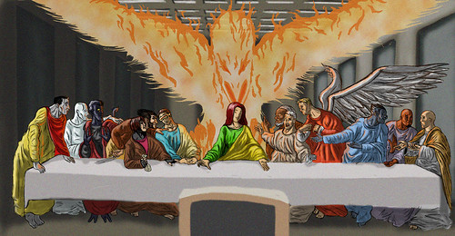 X-men Last Supper