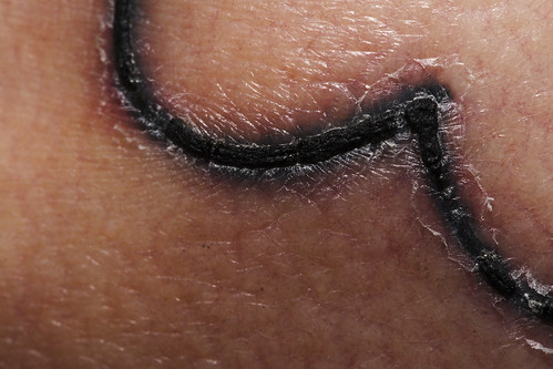 Heart tattoo macro