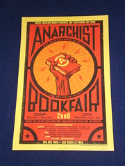 SanFrancisco BayArea Anarchist Bookfair Poster
