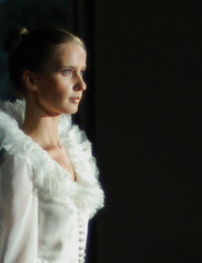 Wedding story. Defile. Like angel. (anple) Tags: bride weddingdress defile bridalgown topazapella fotocompetition fotocompetitionbronze fotocompetitionsilver