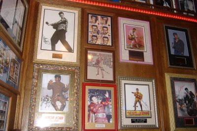 Elvis Memorabilia at Azteca - Shot #2
