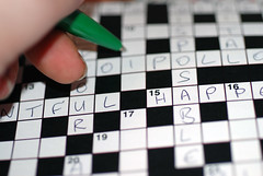 Filling In a Crossword Puzzle
