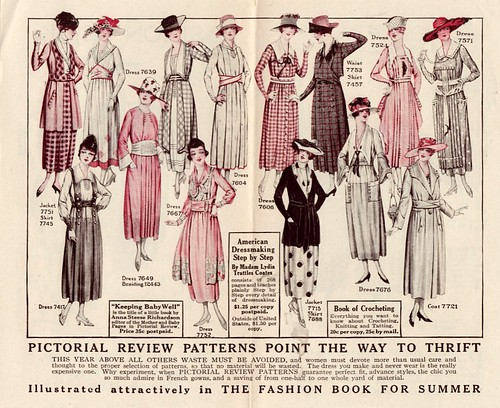 Sears Fashion ca 1910 back