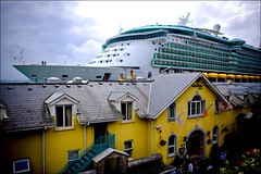Independence of the Seas (Peadar O'Sullivan) Tags: ocean cruise ireland sea ship harbour cork wave cobh munster independenceoftheseas