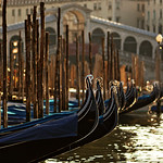 Gondolas are waiting - Venice