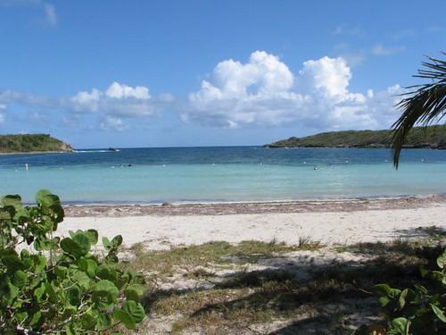 Media Luna Beach Vieques.