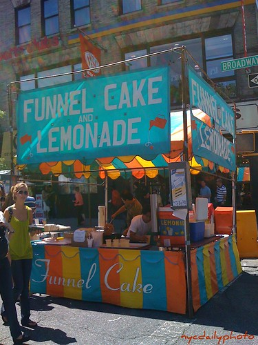 funnel cake & lemonade