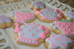 Tea cookies (irresistibledesserts) Tags: birthday flower girl cookies teapot teacup teaparty