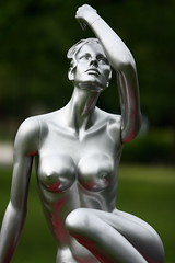The Silver Lining (animefx) Tags: camera color colour art college beautiful statue digital canon silver campus naked eos women artistic bokeh body curves sharp human form dslr 2008 humanbody siue 135mmf2l tacksharp 40d thesilverlining