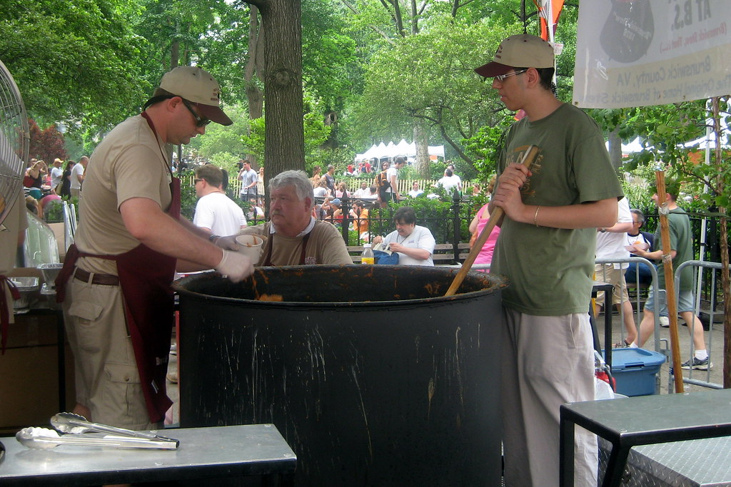 2008 Big Apple Barbecue Block Party - Proclamation Strew Crew - Brunswick Stew